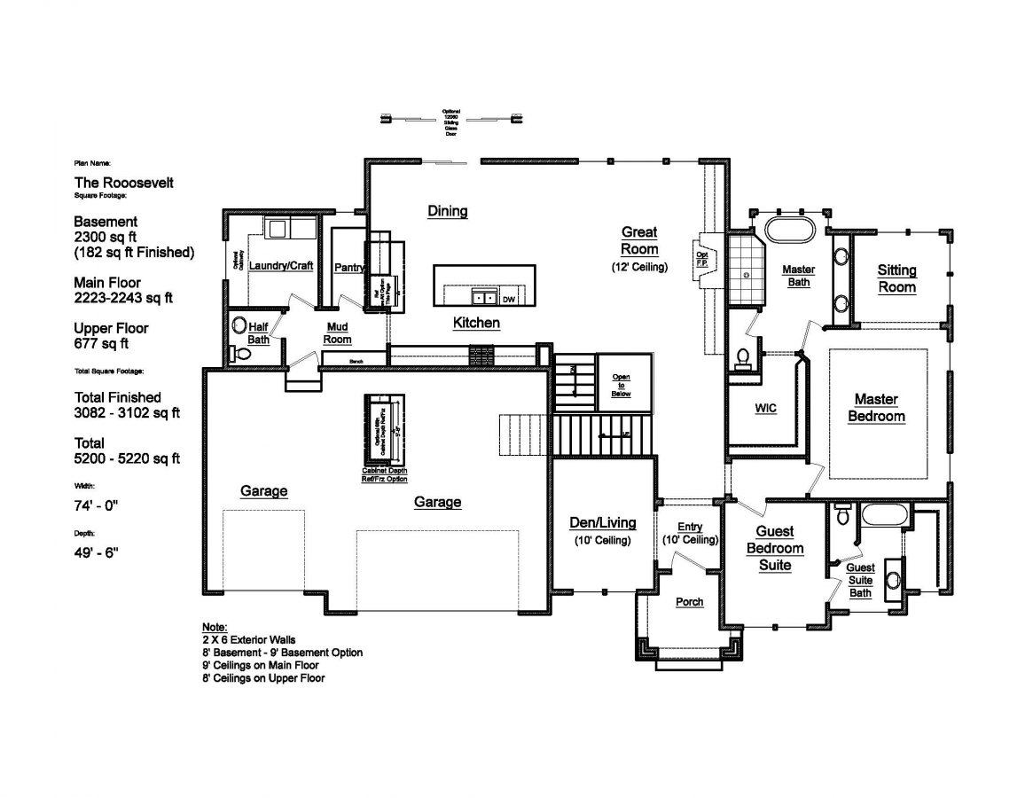 The Roosevelt Patterson Homes Data Sheet Drawing Information Housing Diagram Page 2 Wiring